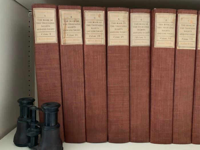 Fifteen Book Set, The Book of The Thousand Nights and One Night, Limited Edition
