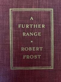 Signed by Robert Frost