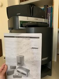 Bose 321 Home Entertainment System