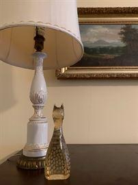Kosta Boda Art Glass Cat