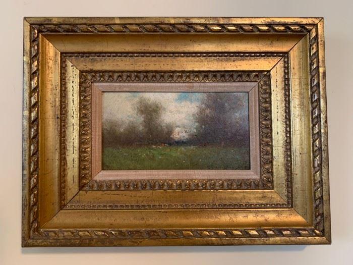 Milne Ramsey, Oil on Canvas, 8 x 4
