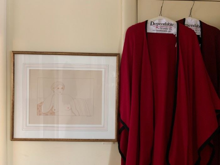 Wool and Cashmere Capes