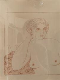 Gerald Garstan, Artist Proof