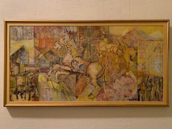 Joseph Pulitano, Paint on Board
