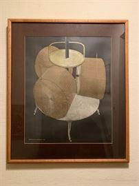 Chocolate Grinder, Marcel Duchamp