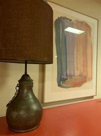 Copper Lamp, Carol Summers (?)
