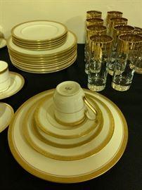 Noritake Gold Rimmed China
