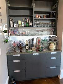 Many Home bar items!!