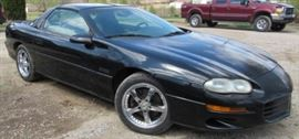 1998 Chevy Camaro Z28 Car - New Tires - T-Top - LS -1 Motor - 6 Speed Standard Shift