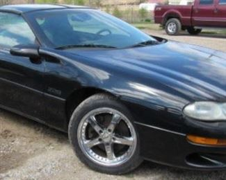 1998 Chevy Camaro Z28 Car - New Tires - T-Top - LS -1 Motor - 6 Speed Standard Shift