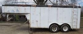 22' Gooseneck Cargo Trailer
