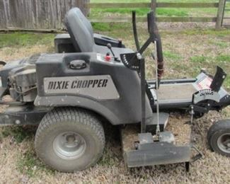 "2007 Dixie Chopper Zero Turn 50"" Iron Eagle Mower w/Kohler Engine"