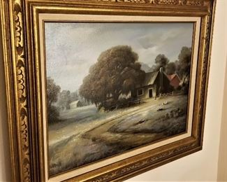 Second painting by John Reed Campbell.
