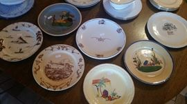 Western ware dishes Tepco, Wallace, Shenago