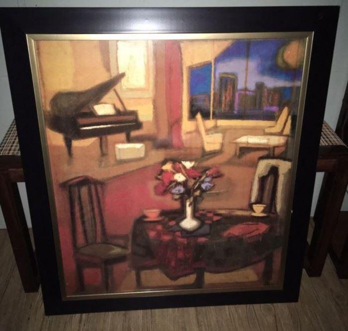 Large dining or living room artwork