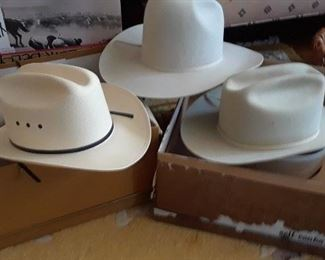 Stetson and Resistol hats