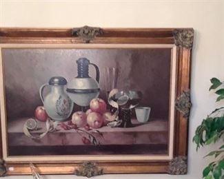 Painting of still life