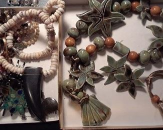 Examples of assorted costume jewelry