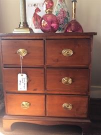Antique 6 Drawer Chest