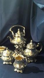 Martele tea service by Gorham.