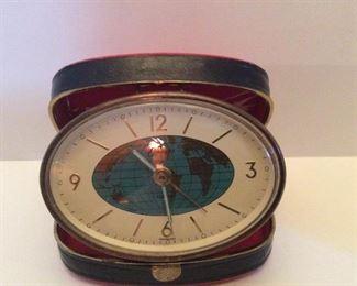 #104.     Antique    World Clock          $35.