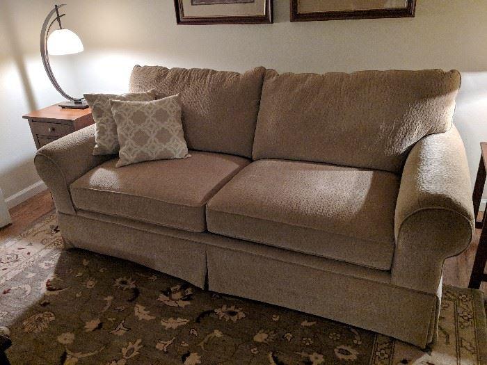 Bassett sofa couch