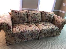 ROWE floral print sofa