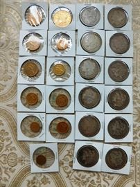Collectible gold coins and Carson City coins for sale. I wont have final prices until Saturday morning. Thanks for understanding. None of the coins are officially graded by PCGS, but each is worth it. Our prices will be firm most of the weekend.