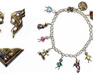 14k Gold and Semi Precious Gemstone Jewelry Assortment