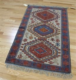 Antique And Finely hand Woven kazak Style Area