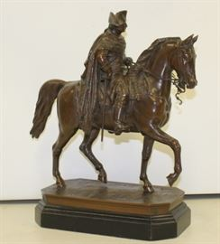 Antique Bronze Of Frederick the Great