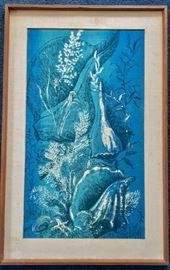 Key West artist Suzie DePoo, Zuzek on fabric