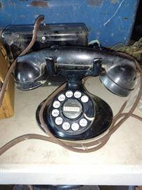 Art Deco Bakelite Bell system phone.
