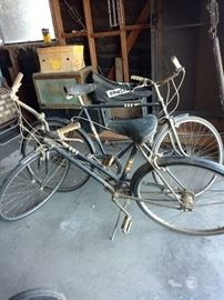Sears 1960's bikes. Man and woman's 3 speeds