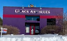 Lilacs Antiques - The Purple Store  selling everything in the store at a fraction of the original price.  50%-80% off.  Amazing items, amazing deals.  You will love this sale!
