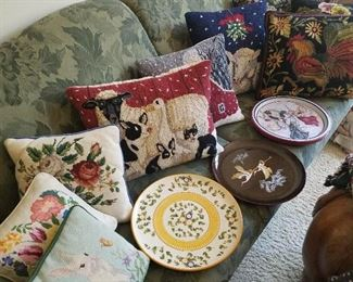 Platters and Pillows