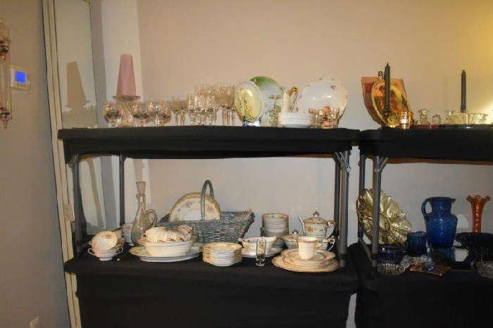 Noritake Acadia China, Stemware, Glassware More