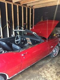 1968 Chevy Camero,  327 cu in automatic three speed transmission. Roughly 35k miles.