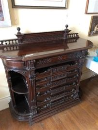 Beautiful console from the old Gayoso Hotel downtown.