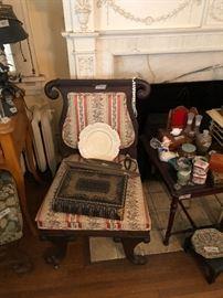 Wonderful antique empire chair