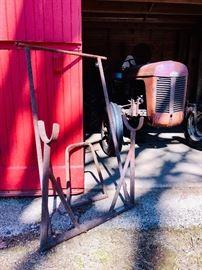 Original complete Ferguson tractor jack system
