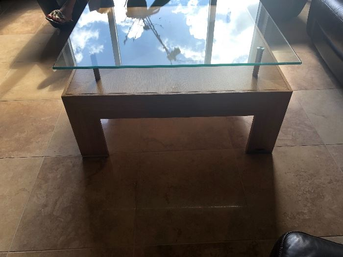 """DOUBLE DECKER COFFEE TABLE By DI MOLINI """" THE BEAT FURNITURE STORE IN PUERTO RICO"""""""