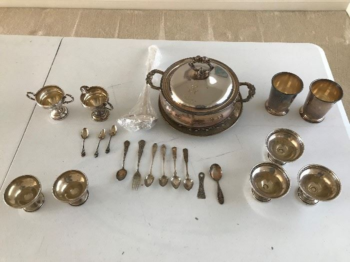 Silver and Some Silver Plate. Come take a look!
