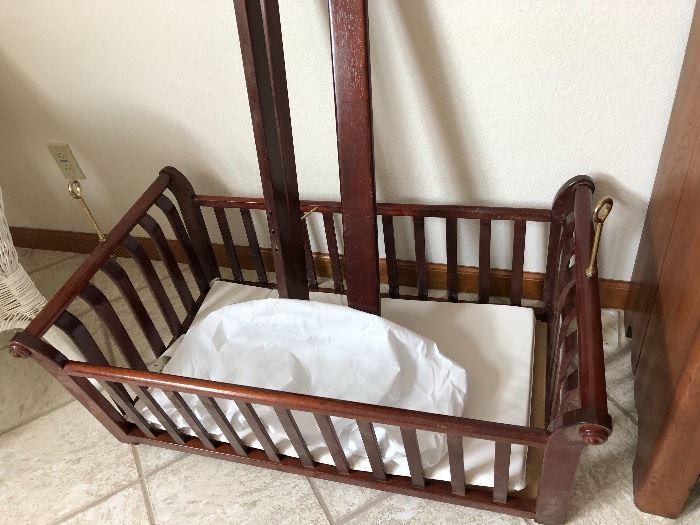 * 1950's Baby Crib