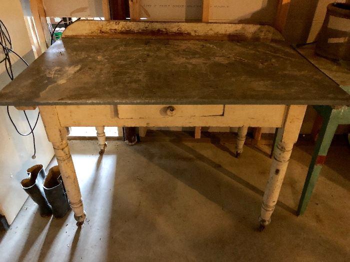 * Old Farm Table