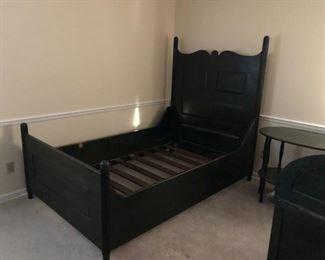 Antique Oak Bed Frame