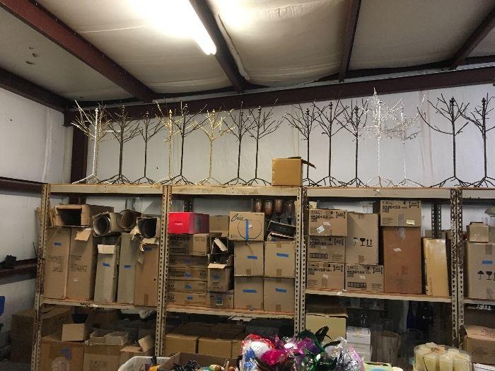 Boxes of Vases & Decor