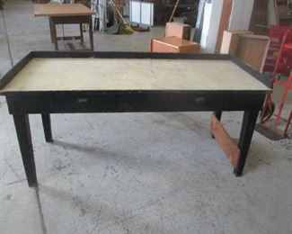 Antique planting table / workbench
