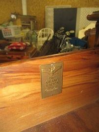 Label on John widdicomb dresser