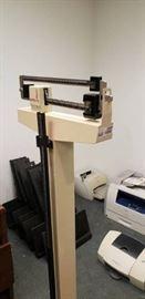 Detecto 3P7044 Floor Model Manual Scale..